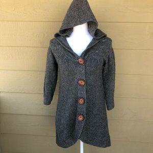 Sleeping On Snow (Anthro) Hooded Cardigan Size XS